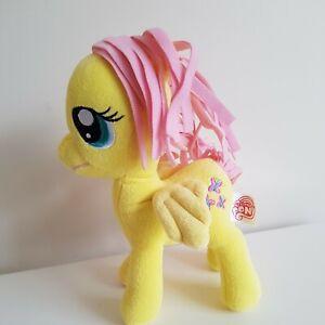 My Little Pony Fluttershy Butterfly Yellow Soft Plush Toy 22cm Hasbro 2013