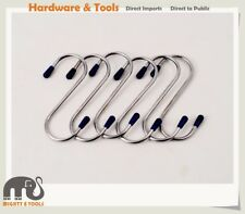 80/100/200mm S Shape Hook & Rails Garage Shop Office Kitchen Hanger Display