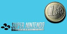 SUPER NINTENDO METALISSED CHROME EFFECT STICKER LOGO AUFKLEBER 45x9mm [505]