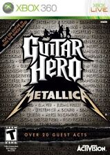 Xbox 360 Guitar Hero Metallica Game for Xbox 360 RARE BRAND NEW & SEALED