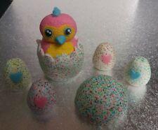 Handmade 100% edible Hatchimal cake topper set