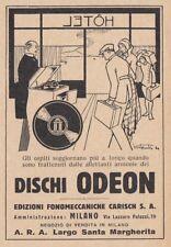 Z4103 Dischi ODEON - Illustrazione - Pubblicità d'epoca - 1931 old advertising