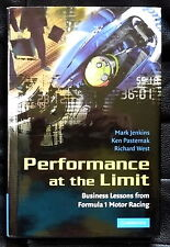 SIGNED By Mark Jenkins Ken Pasternak and Richard West-Performance At The Limit F