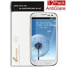 Anti-Glare Fingerprint (Matte) Screen Protector Samsung Galaxy S3 I9300 (12pcs)