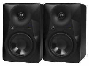"Mackie MR524 Nahfeldmonitor 2er Set Aktiver Studio Monitor Paar 5"" 50W Waveguide"