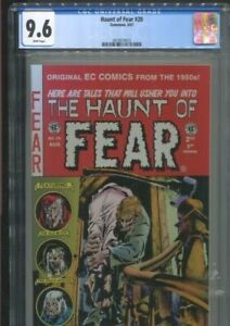 HAUNT OF FEAR 20 (1997) GRAHAM INGELS COVER BEST & ONLY CGC NEAR MINT PLUS 9.6