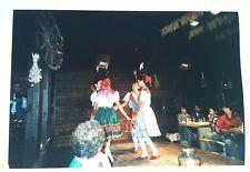 Vintage Photography PHOTO GERMAN FOLK DANCERS CIRCLE DANCING OLD WORLD GERMANY