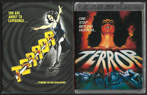 VINEGAR SYNDROME : Terror (Limited Slip Cover) OOP (codefree) Norman J. Warren