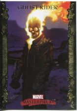 Marvel Masterpieces 2007 UD Gold Border Parallel Base Card #32 Ghost Rider