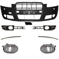 Set Stoßstange vorne inkl. Zubehör+Nebel für Audi A6 4F C6 04-08 für SRA für PDC