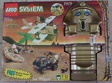 Lego Adventurers Desert 5909 Treasure Raiders (192 pcs) MISP Sealed 1998 RARE