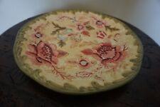 Longaberger Majolica Garden Pottery Plate