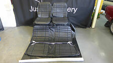 LC torana 2 Door coupe  seat covers Black Front and Rear Roebuck
