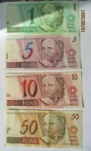 pièces et billets BRESIL