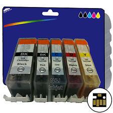 1 Set of non-OEM C05/08 x5 Ink for Canon iP5200R iP5300 MP500 MP510 MP520 MP530