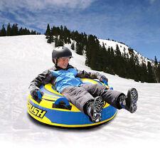 """Sportsstuff Rush 40"""" Snow Tube Sledge Snow Ring Snowtube Sled Brand New"""