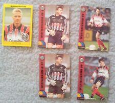 5 Panini Sammelbilder Wattenscheid 09 Bundesliga 94 1994 Trading Cards Fußball