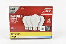 24-PACK SOFT WHITE HALOGEN 60W DIMMABLE A19