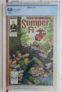 Semper Fi #1  CBCS 1988  Vietnam War Stories  USMC