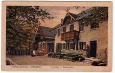 Waldstein b. Sparneck Fichtelgebirge, Waldsteinhaus mit Restauration um 1910
