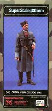 Verlinden Productions 120mm 1:16 WWII Captain Cuban Cossacks Resin Figure #540