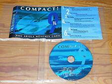 COMPACT 9/94 - V.A. / 6 TRACK CD 1994 MINT- PETER MAFFAY, SNAP