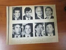 Vintage Ap Wire Press Photo 1990 Massachusetts Treasurer Candidates Joe Malone