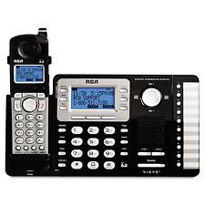 RCA ViSYS Cordless Expandable Phone/Ans System 2 Lines 1 Handset 25252