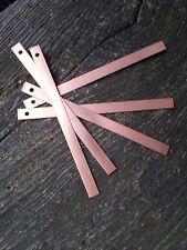 6  x 150mm Straps, Slate Roof Copper Strips, Moss Killer, Slug-snail deterrent.