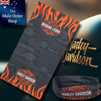 MULTI SCARF NECK FACE HEAD SOCK TUBE MASK BAND Flames Biker Harley Indian Custom