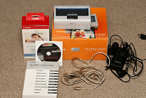Canon Selphy CP400 Thermal Printer With KP-7