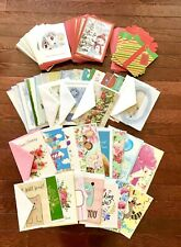 Lot of 77 All Occasion Greeting Cards With Envelopes Christmas,Holiday,Everyda y