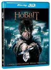 Lo Hobbit - La Battaglia Delle Cinque Armate -Blu Ray 3D + 2D (4  Blu Ray)