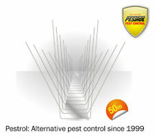 Stainless Steel Bird Spikes (50 Metre Box) by Pestrol FAST AND