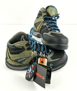 Wolverine Edge FX CT WP Grey Blue Women's Hiking Trail Boots Size 6M Steel Toe