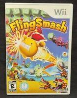 Flingsmash Fling Smash - Nintendo Wii Wii U Game 1 Owner CLEAN Mint Disc !