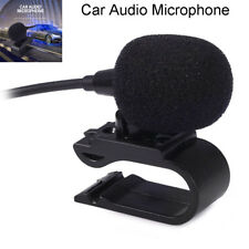 Professional Stereo 3.5mm Jack Plug Car Audio Microphone for Auto DVD Radio Hot
