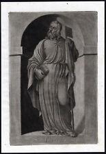 Antique Print-SAINT-THOMAS-APOSTLE-BOOK-STAFF-Ehinger-Sandrart-1708