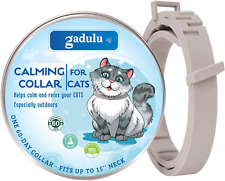 Gadulu Calming Collar for Cats - Cat Anxiety Relief with Pheromones - One Size F