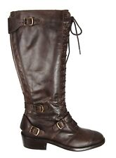 $750.00 Belstaff Blackbrown Leather Lacedmaster Laced Boots Shoes EU Size 37