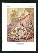 """""""Der Sultan und seine Favouritinnen"""" - Nach Aquarell von F. Boucher  (J-BE3)"""