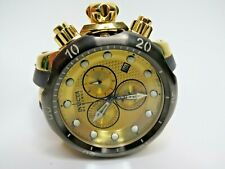 Invicta Reserve Men's Venom Chronograph Watch Gold Black Poly Strap 16150