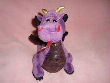 """Ganz Webkinz Emperor Dragon Plush Beanbag 7"""" tall NO CODE"""