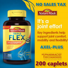 Nature Made TripleFlex 200 Caplets,Triple Strength, glucosamine chondroitin msm