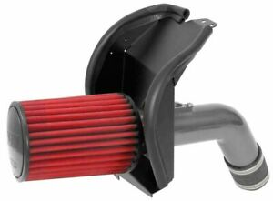 AEM Induction Cold Air Intake Round Red Non-woven Synthetic System # 21-866C