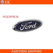 14.5CM*6CM For Ford Fiesta MK6 ST & Zetec S Front Ford Oval Badge Logo 1779943