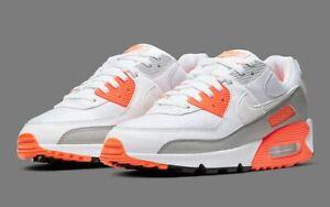 Nike Air Max 90 Hyper Orange CT4352-103 Airmax Mens Running Sneakers sz 9.5