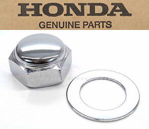 Genuine Honda Steering Stem Nut Many Vintage 50-250cc Cap (See Notes) OEM #D64 A