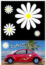 38 Daisy Flower Decals Car Stickers Graphics Nursery Wall Window Decorations