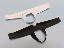 COMBO! Two Bulge Boosting, Package Enhancing Slings 1 Black & 1 White M-XL USA